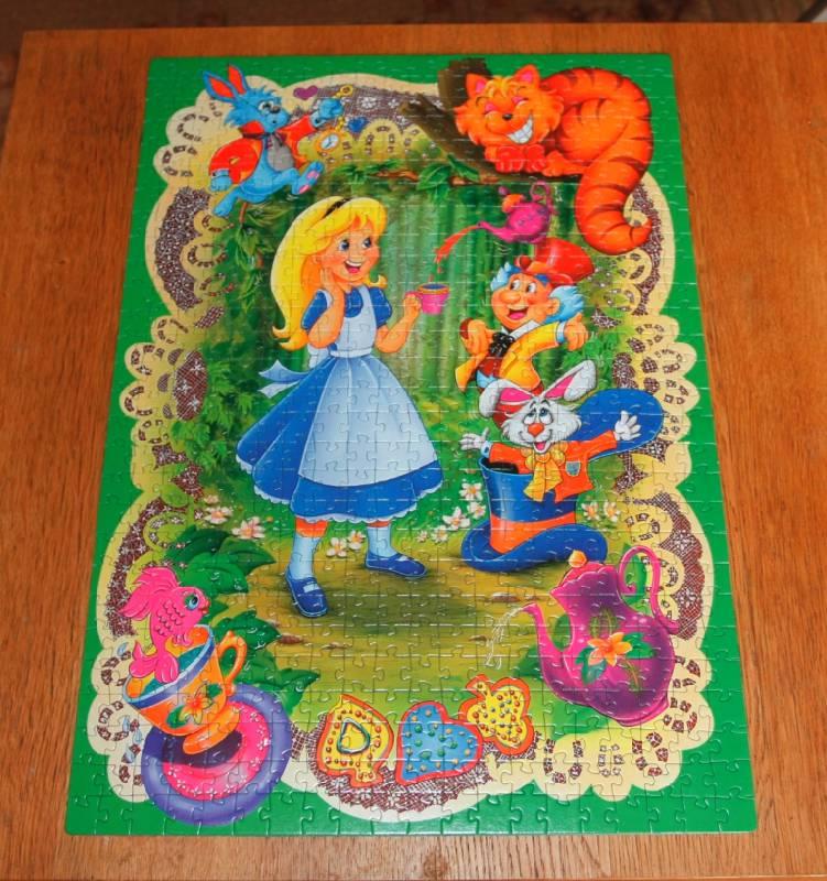 Иллюстрация 1 из 2 для Step Puzzle-560 78047 Алиса в Стране Чудес | Лабиринт - игрушки. Источник: Elena_Vamp