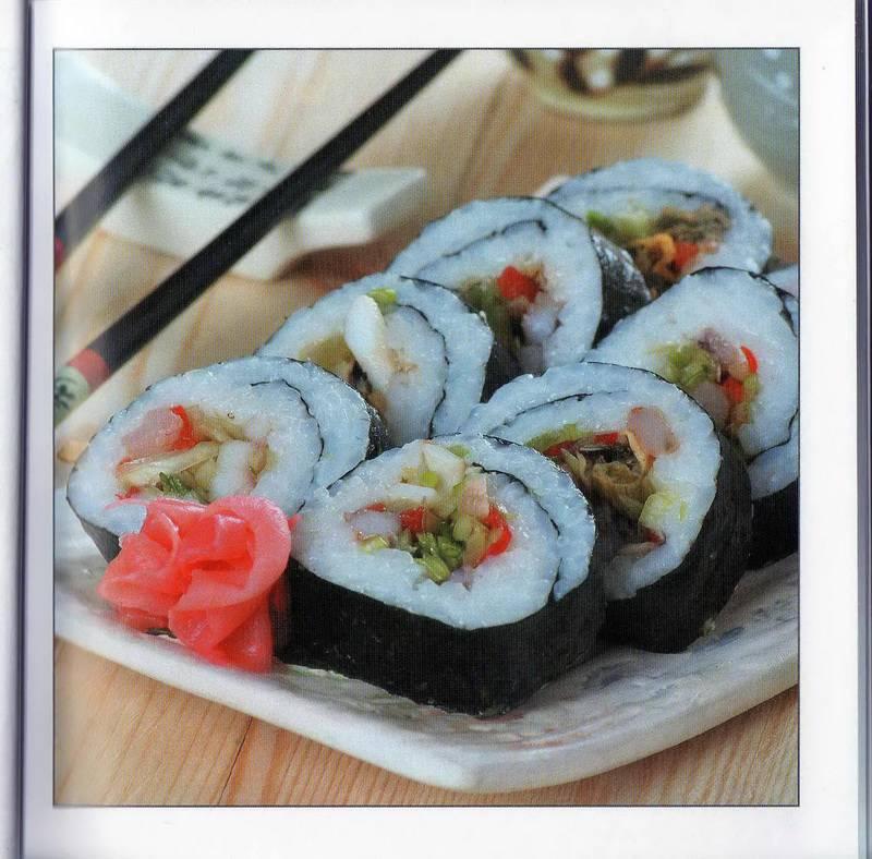 Суши с креветками рецепт с фото