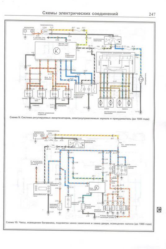 Скачать Схемы электрооборудования MAZDA 626 1983-1991.  Кликните на картинку, чтобы увидеть полноразмерную версию.