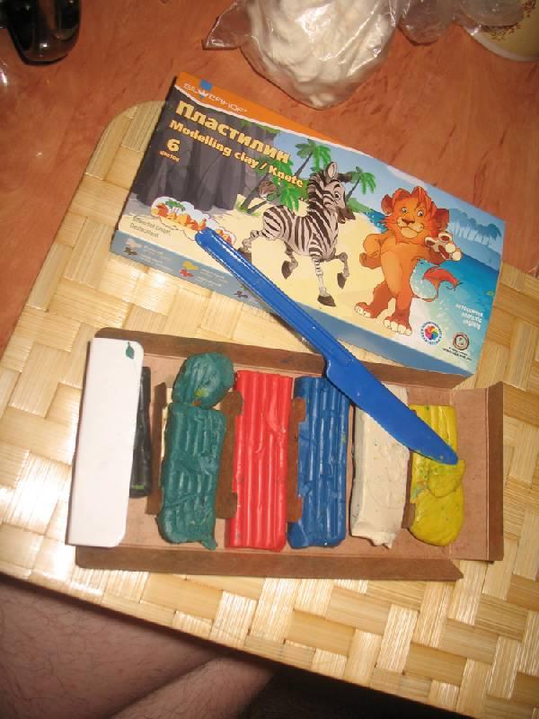 """Иллюстрация 1 из 3 для Пластилин 6 цветов """"Zanzibar"""" (951113-31)   Лабиринт - игрушки. Источник: К Л Я К С А"""