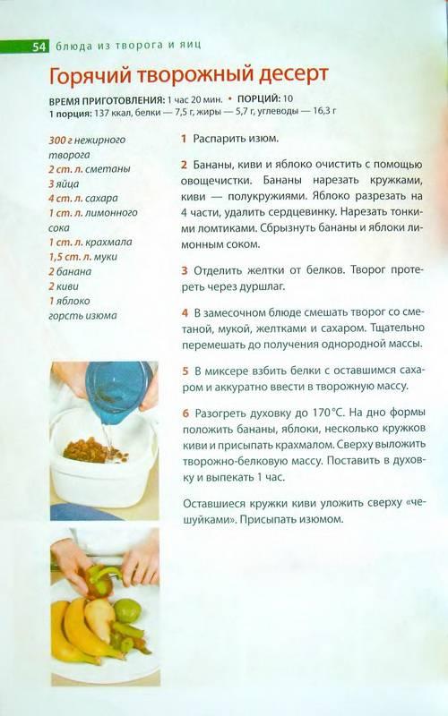 Блюда из творога и яиц рецепты