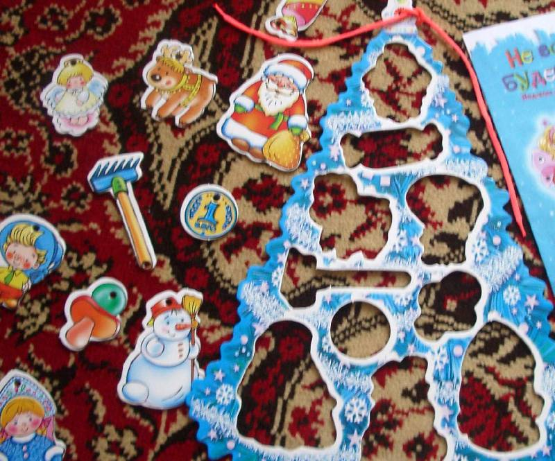 Иллюстрация 1 из 2 для Фигурный пазл: Голубая елочка   Лабиринт - игрушки. Источник: Касьянова Оксана Владимировна