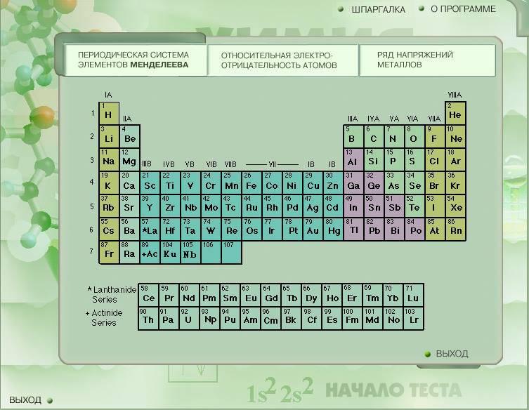 Иллюстрация 1 из 4 для Химия. Полный иллюстрированный курс: Проверь себя (CDpc) | Лабиринт - софт. Источник: Рыженький
