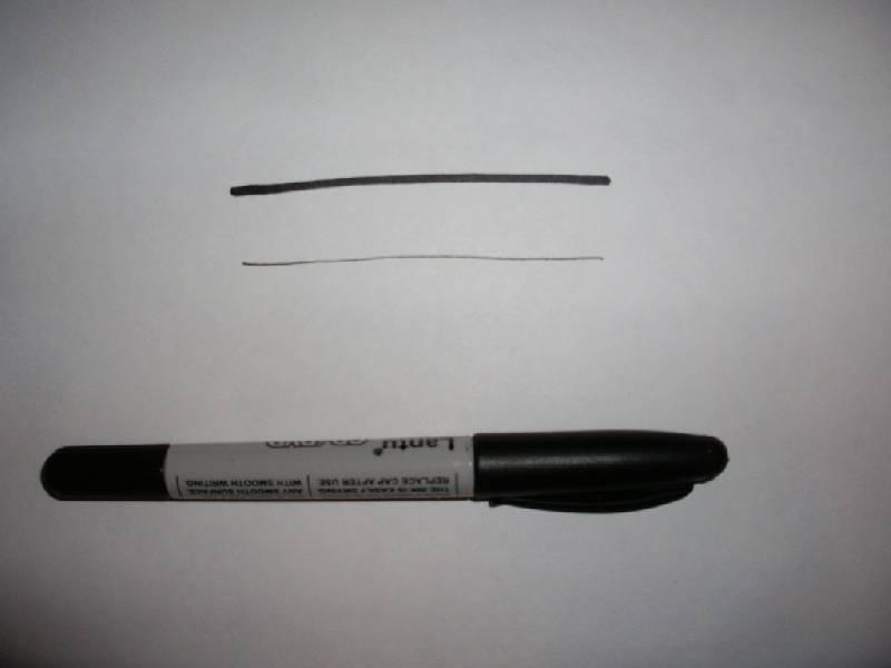 Иллюстрация 1 из 2 для Маркер двухстор. для CD, плен Lantu (черн)   Лабиринт - канцтовы. Источник: Tiger.