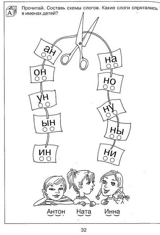 знакомство детей 5 лет с буквами