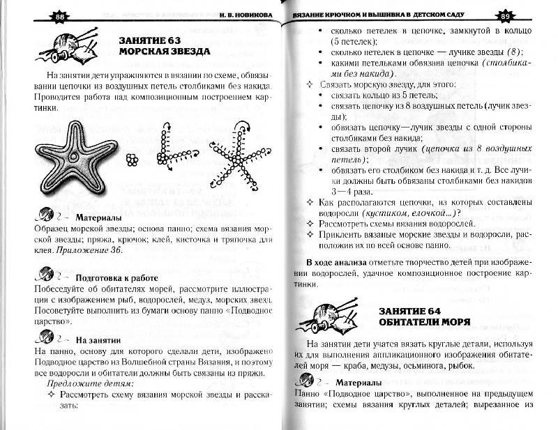 Программа занятий по вязанию