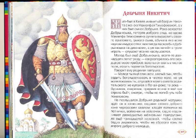 презентация о богатырях русских