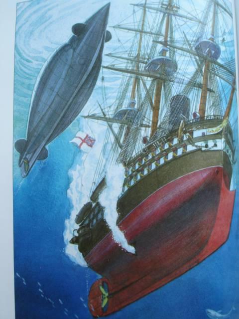 как называлась подводная лодка у немо
