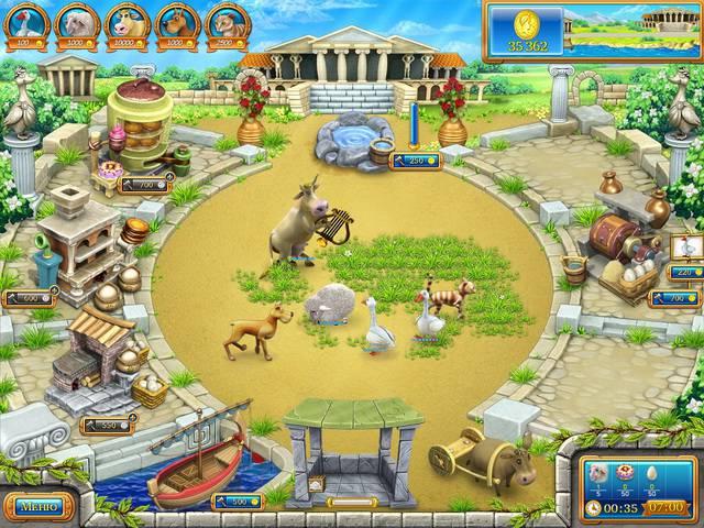 Иллюстрация 1 из 6 для Веселая ферма 3. Древний Рим (CDpc)   Лабиринт - софт. Источник: Лимпи