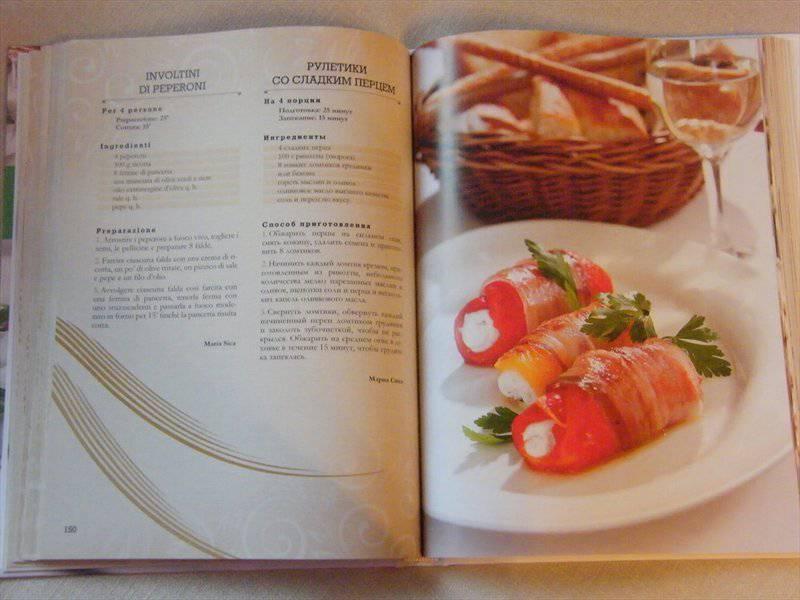 Итальянская кухня популярные рецепты