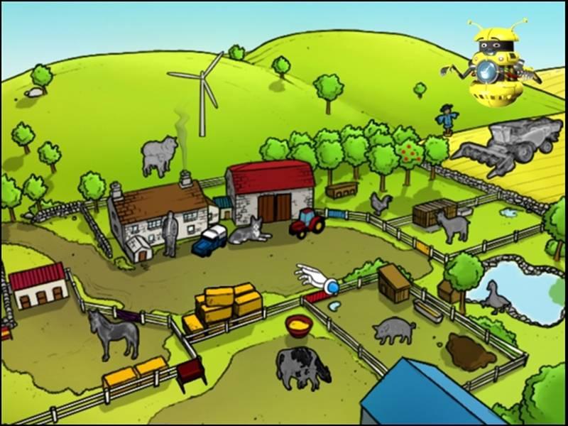 Иллюстрация 1 из 6 для Разузнайка. В деревне (DVDpc)   Лабиринт - софт. Источник: Лимпи