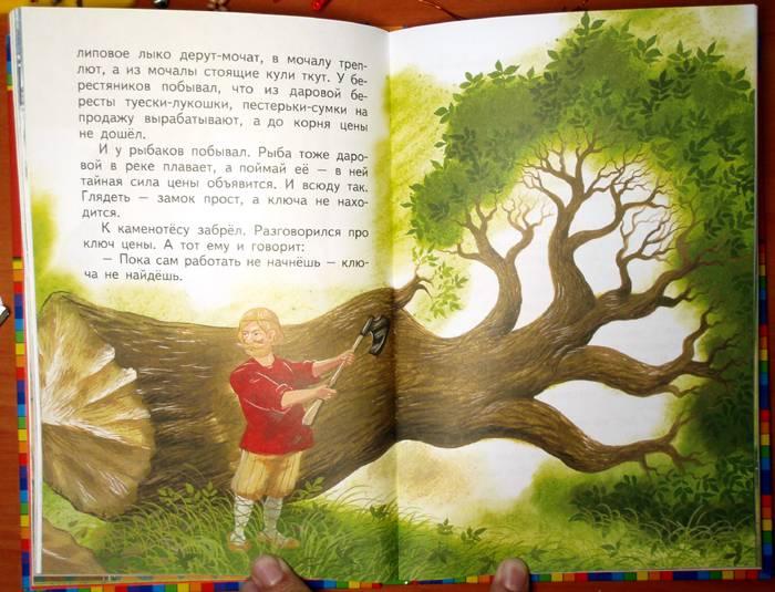 Седьмая иллюстрация к книге волшебные