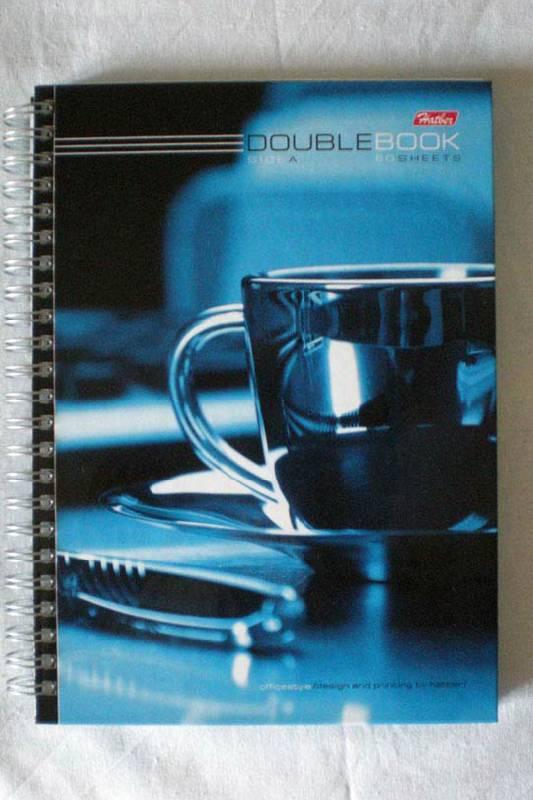 """Иллюстрация 1 из 4 для Тетрадь 80 листов, А5, двойная, """"Чашка кофе"""", (80Тдт5В1гр_06603)   Лабиринт - канцтовы. Источник: Cursed"""