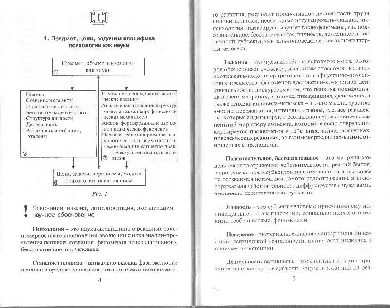 Общая психология в схемах