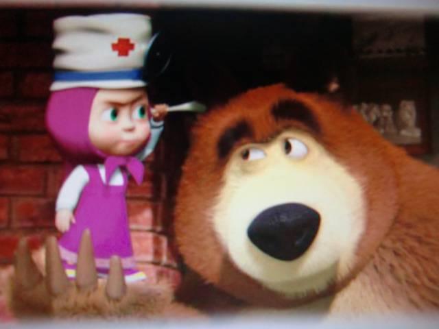 Иллюстрация 1 из 10 для Маша и медведь: Будьте здоровы! (DVD) - Ужинов, Червяцов, Баулина, Мелько, Серегин   Лабиринт - видео. Источник: Лимпи