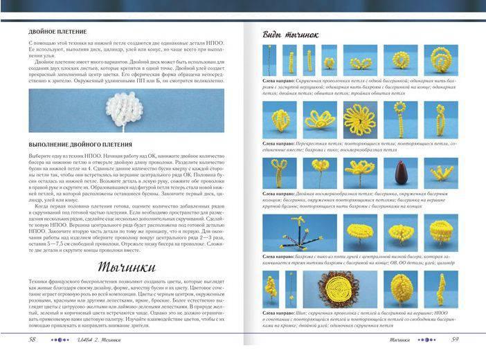 купить: Книга Волшебные цветы из бисера изображение5.