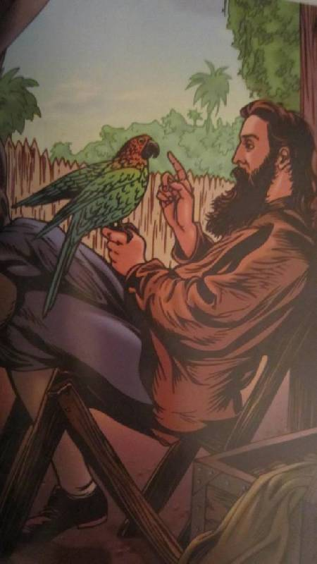 Девятая иллюстрация к книге робинзон