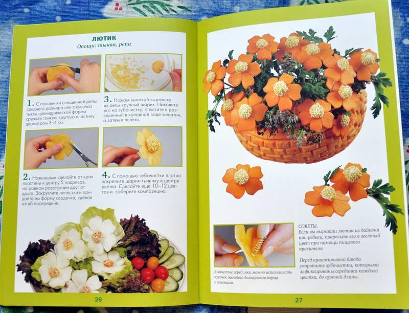 Книга из овощей своими руками