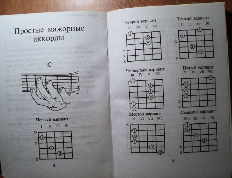 аккорды для шестиструнной