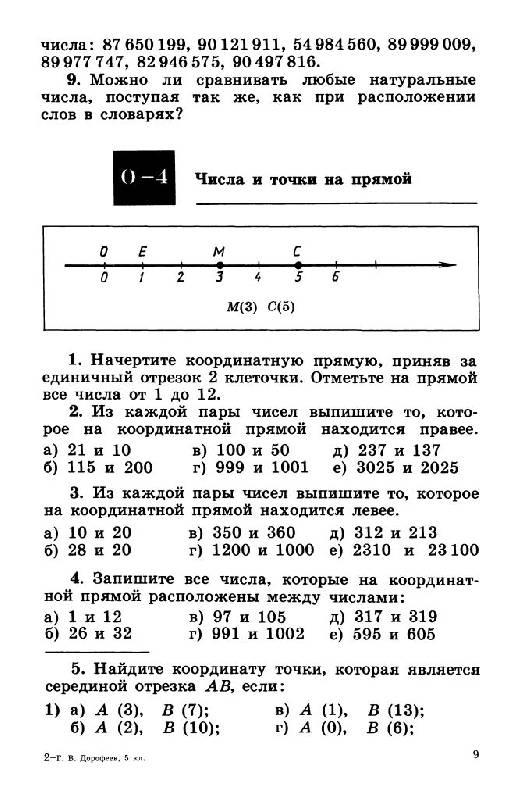 Математике дидактический гдз минаева класс кузнецова по 6 материал