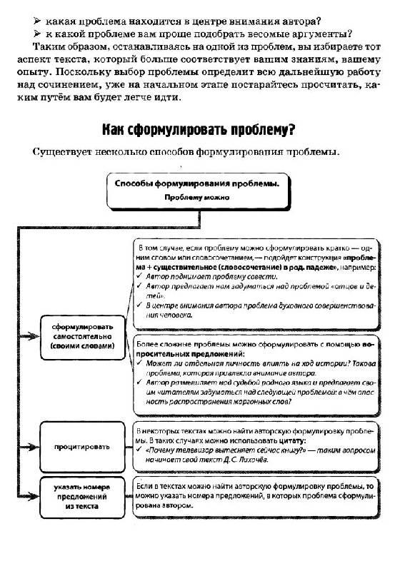 сенина русский язык 2012 сочинения 6 вариант