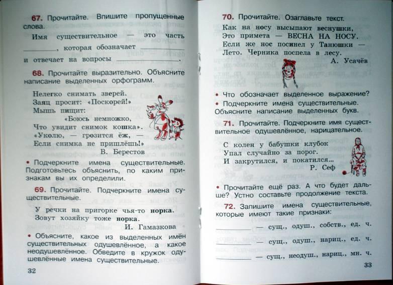 Календарно-тематическое планирование по русскому языку 2 класс канакина