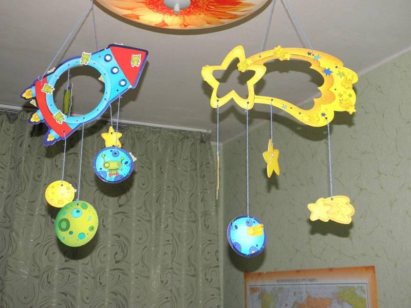 Украшения для детского сада своими руками из бумаги