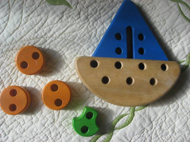 Иллюстрация 1 из 4 для Сложная шнуровка (Ш-065) Кораблик-шнуровка | Лабиринт - игрушки. Источник: Юта