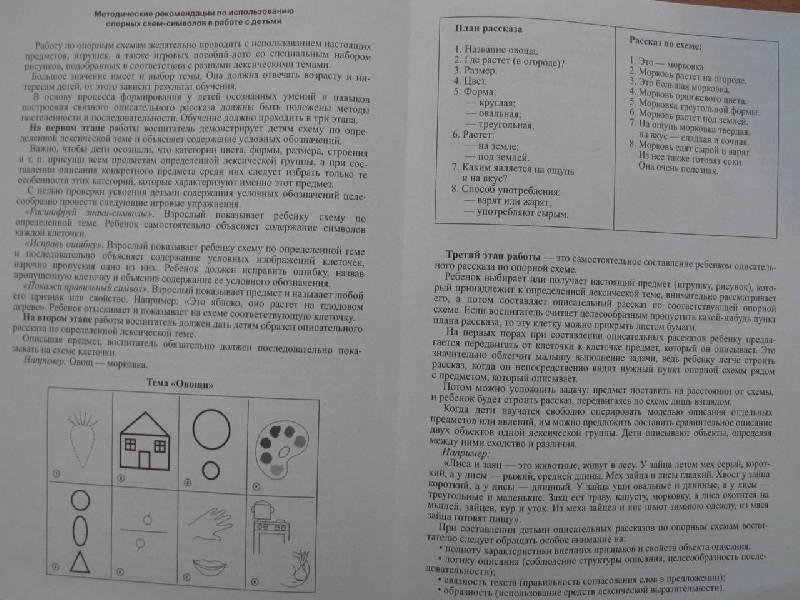 6. 5. 4. 3. 2. 1. Иллюстрация. книги Опорные схемы для составления описательных рассказов - Волкова, Черткова.