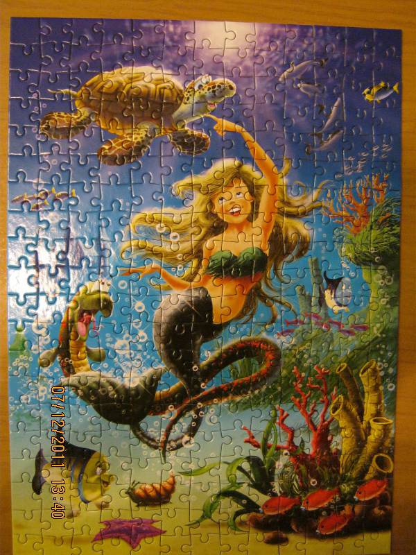 Иллюстрация 1 из 3 для Puzzle-260. Русалочка (В-26647) | Лабиринт - игрушки. Источник: volk