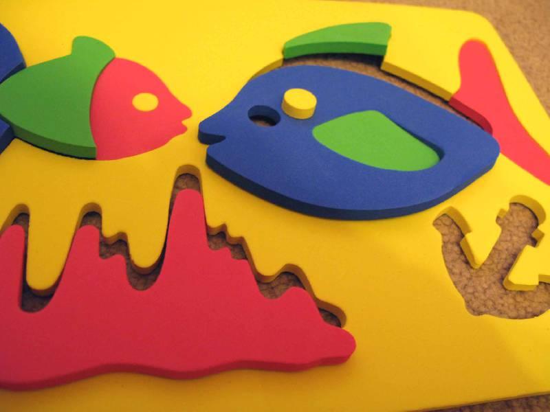 Иллюстрация 1 из 3 для Мозаика. Рыбки (063551Р) | Лабиринт - игрушки. Источник: ВикторияХ