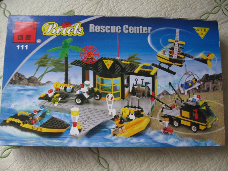 Схема Brick 0111 Спасательная станция.  2 года 9 мес. назад.