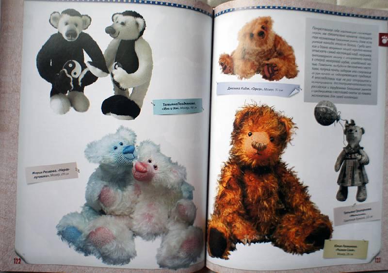 Источник. книги Мишки Тедди ручной работы: технология шитья авторской...