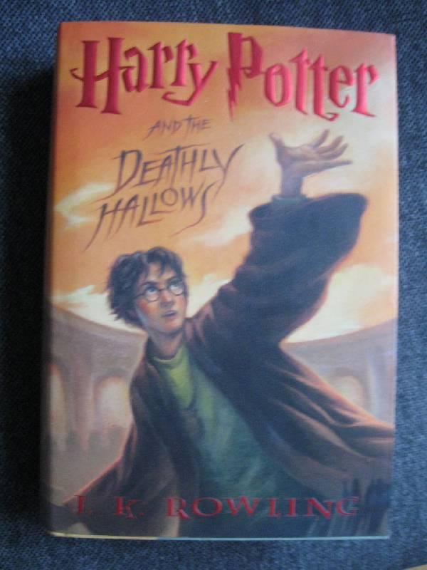 Иллюстрация 1 из 12 для Harry Potter and the Deathly Hallows - Joanne Rowling   Лабиринт - книги. Источник: Малунтик