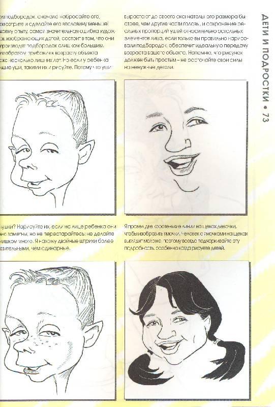 Как научиться рисовать шаржи с нуля поэтапно