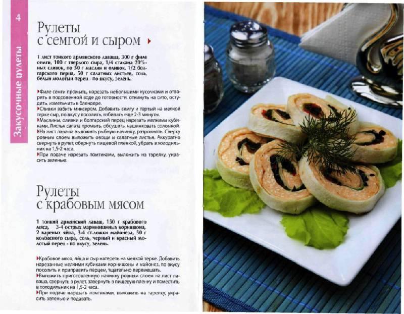 вкусные рулеты рецепты фото
