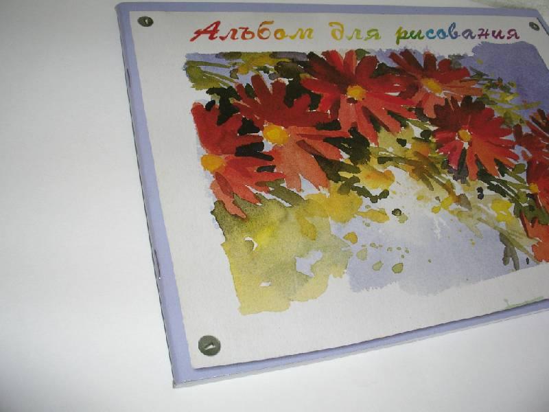 """Иллюстрация 1 из 4 для Альбом для рисования 40 листов """"Цветы"""" (55111)   Лабиринт - канцтовы. Источник: Tiger."""