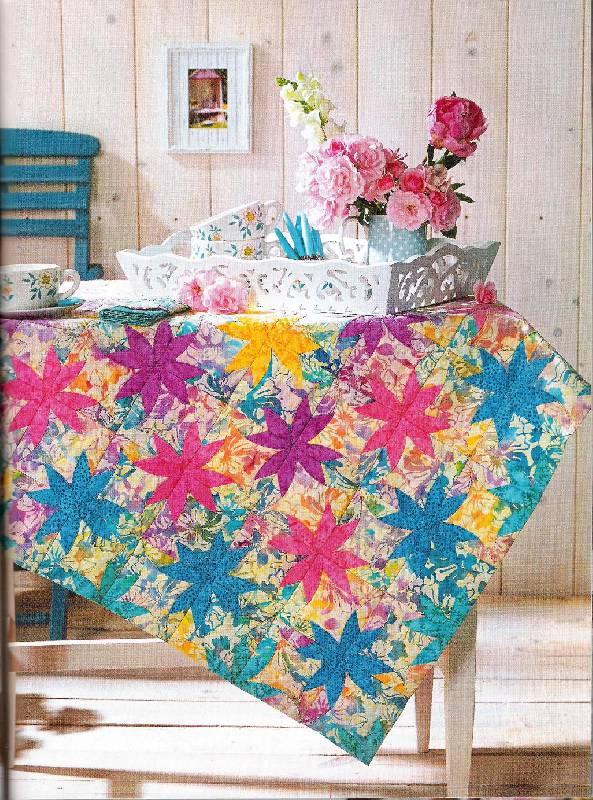 Цветы лоскутное шитье регина бюлер
