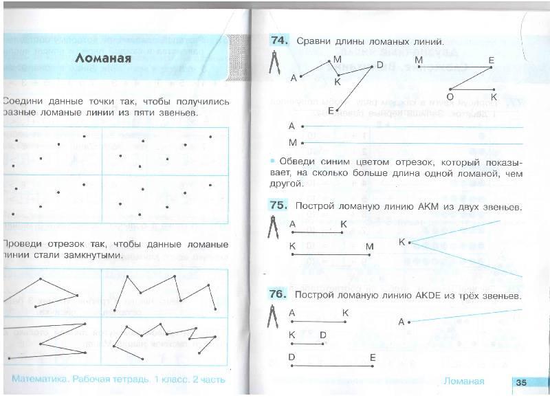 Тпо математика 1 класс гармония