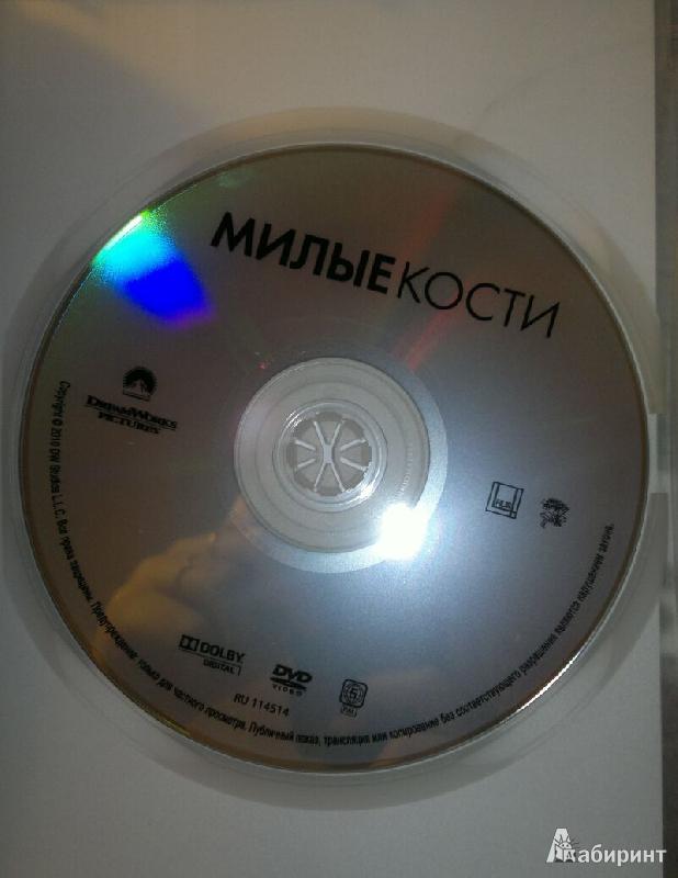 Иллюстрация 1 из 2 для Милые кости (DVD) - Питер Джексон   Лабиринт - видео. Источник: Леонид Сергеев