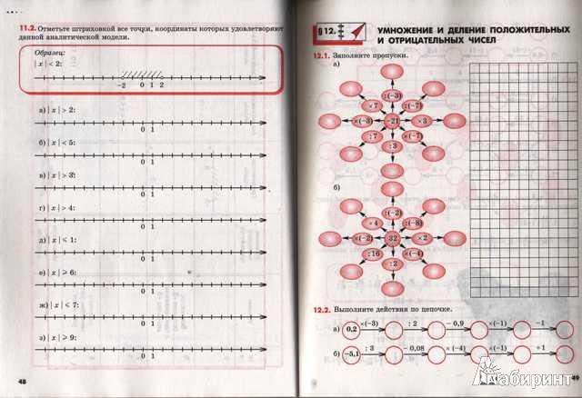 Математика 6 класс рабочая тетрадь №1