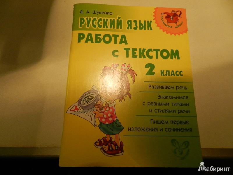 Иллюстрация 1 из 10 для Русский язык. Работа с текстом. 2 класс - Валентина Шукейло | Лабиринт - книги. Источник: Galia