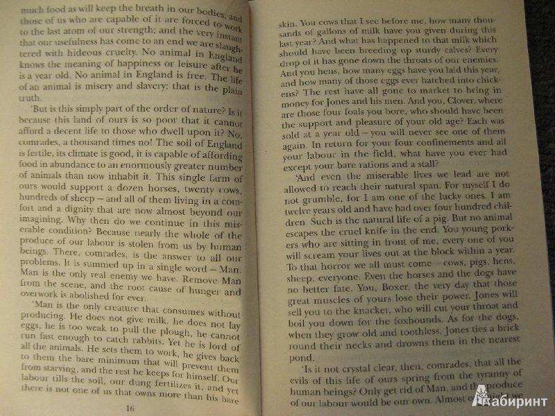 Иллюстрация 1 из 8 для Animal Farm - George Orwell | Лабиринт - книги. Источник: bulochka