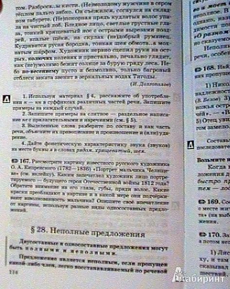 22 из 25 для книги русский язык 8 класс