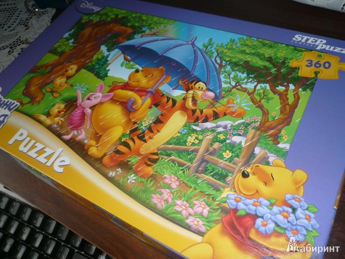 Иллюстрация 1 из 3 для Step Puzzle-360 96004 Винни Пух | Лабиринт - игрушки. Источник: Nadezhda_S