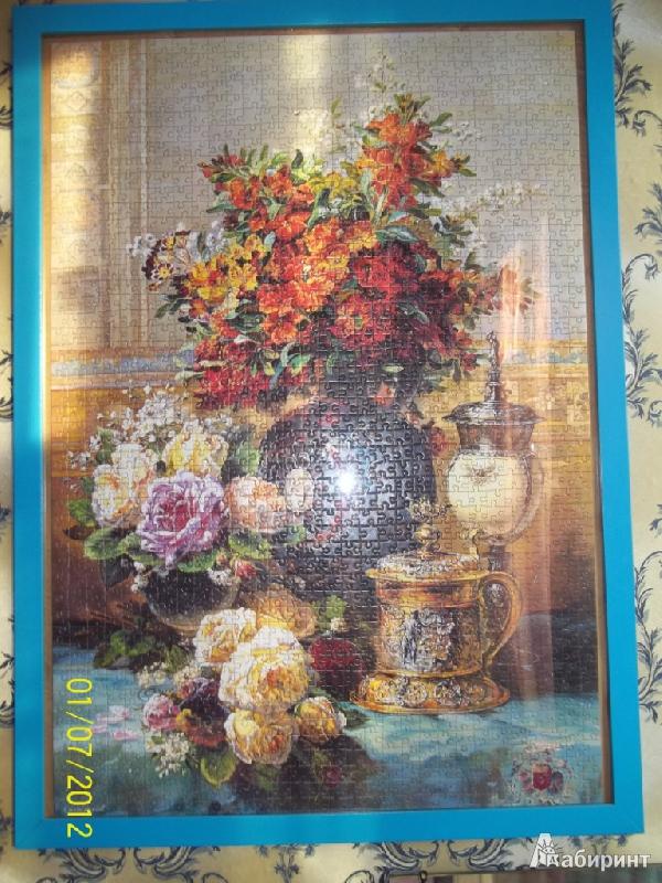 Иллюстрация 1 из 13 для Puzzle-1500. Живопись - цветы (С-150571)   Лабиринт - игрушки. Источник: JaaSv
