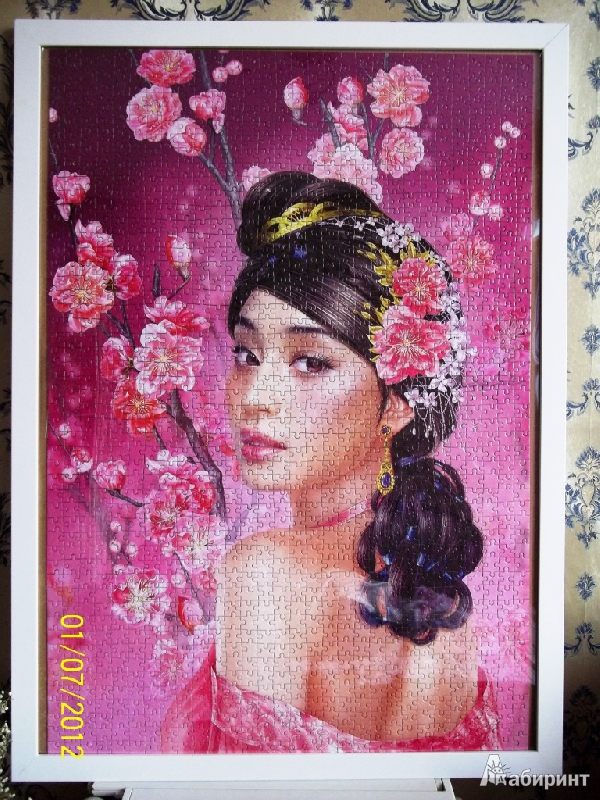 Иллюстрация 1 из 17 для Puzzle-1500. Фэнтези. Девушка в цветах (С-150694)   Лабиринт - игрушки. Источник: JaaSv