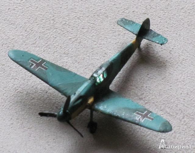 Иллюстрация 1 из 12 для Немецкий истребитель Мессершмитт BF-109F2 (6116) | Лабиринт - игрушки. Источник: Захарова  Галина