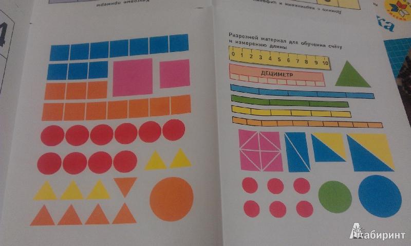 Разрезной материал по математике школа россии