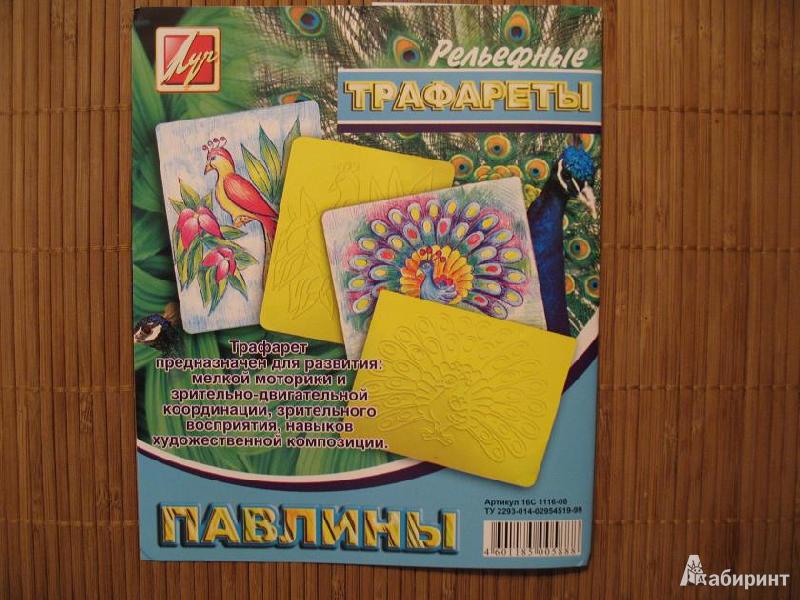 Иллюстрация 1 из 12 для Трафареты рельефные. Павлины | Лабиринт - игрушки. Источник: Мельникова  Светлана Сергеевна
